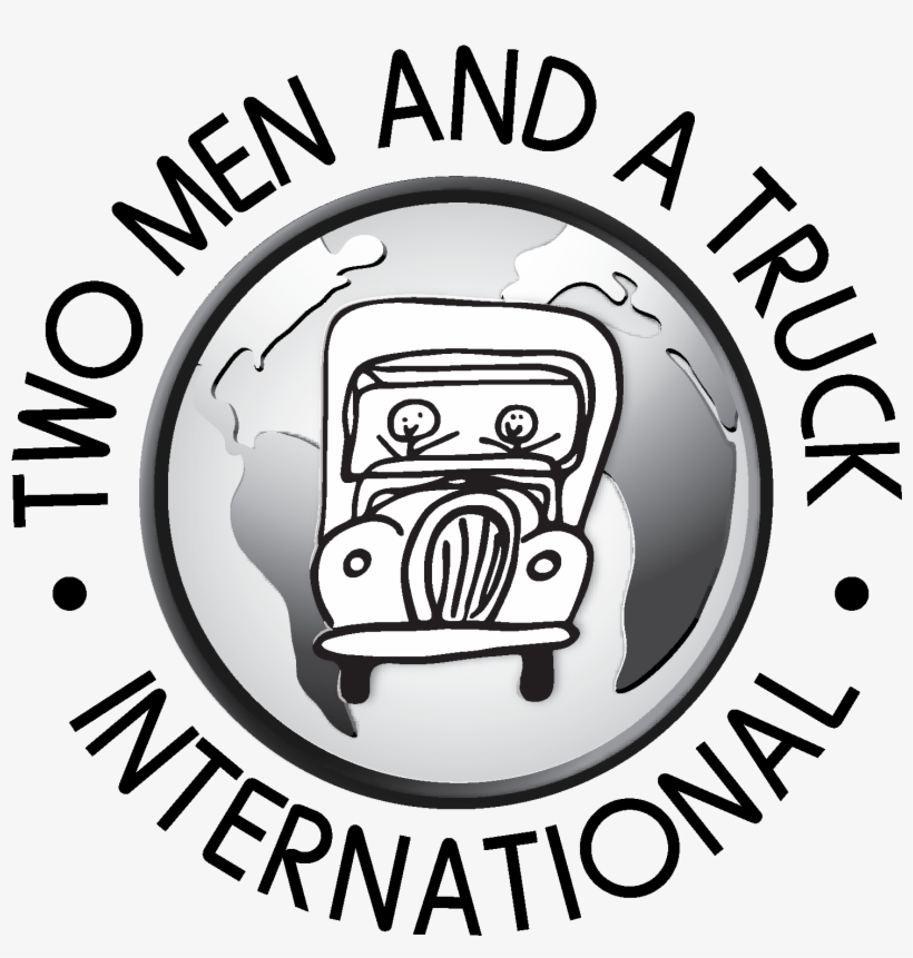 Two Men And A Truck Logo.