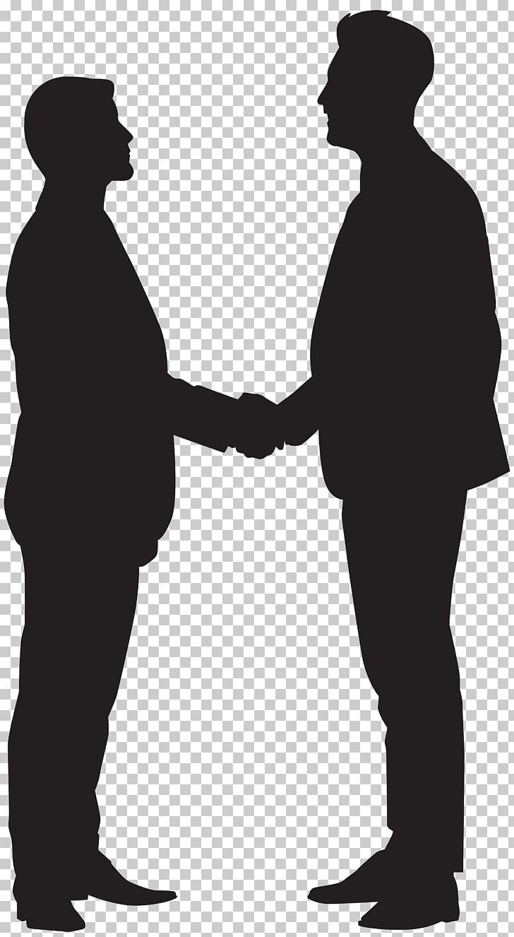 Silhouette Handshake , Men Shaking Hands Silhouette , two.