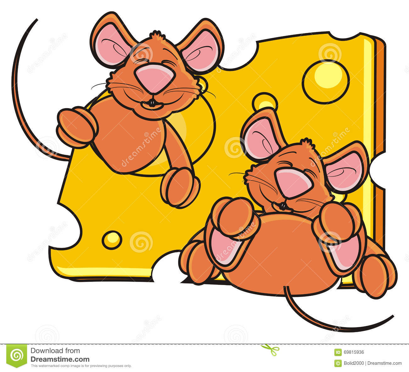 701 Mice free clipart.