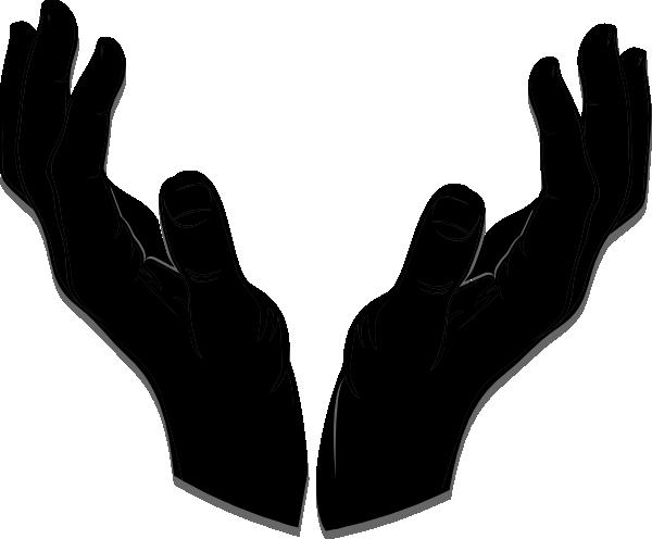 Open Giving Hands Clipart.