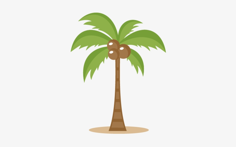 Two Palm Trees Png Clipart Image.
