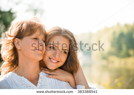 Mother And Daughter Stock Images, Royalty.