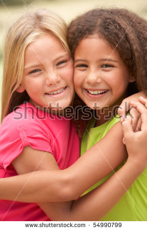 Best Friends Girls Stock Images, Royalty.