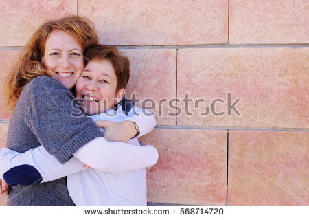 Friends Hugging Stock Images, Royalty.