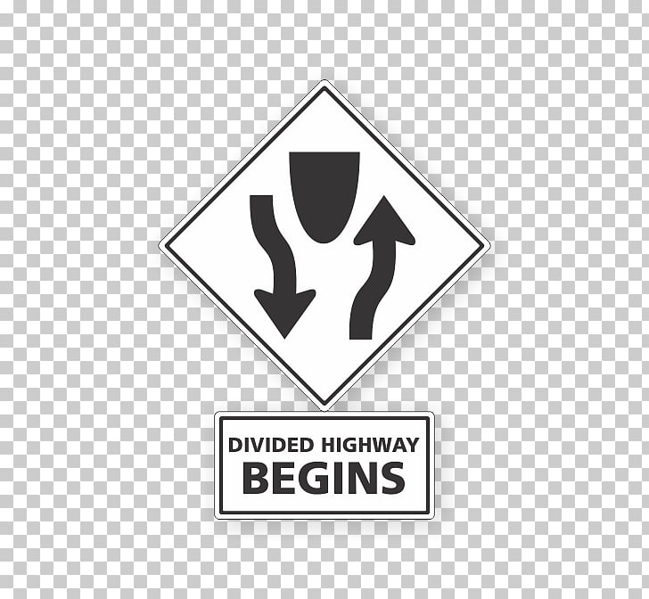Traffic sign Road Two.