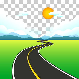 7 highway Two Paths PNG cliparts for free download.