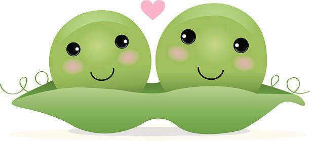 Two Peas In A Pod Clipart.
