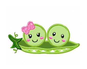 Two Peas In A Pod Clipart Free.