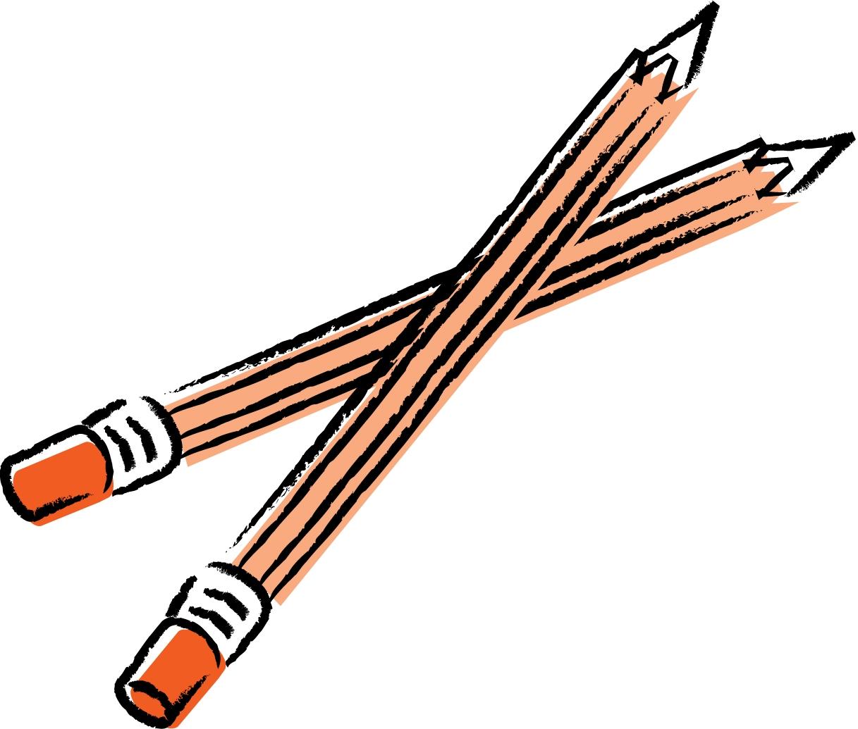 Pencils clipart Unique Two Pencils Clipart 10 » Clipart Station.