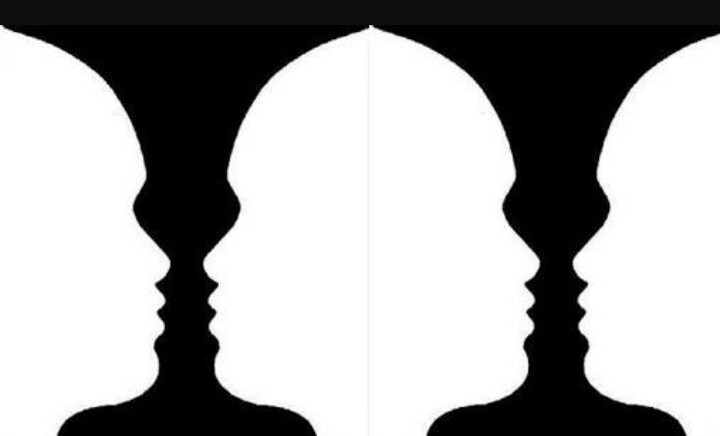 Explain how two people can see the same thing and interpret.