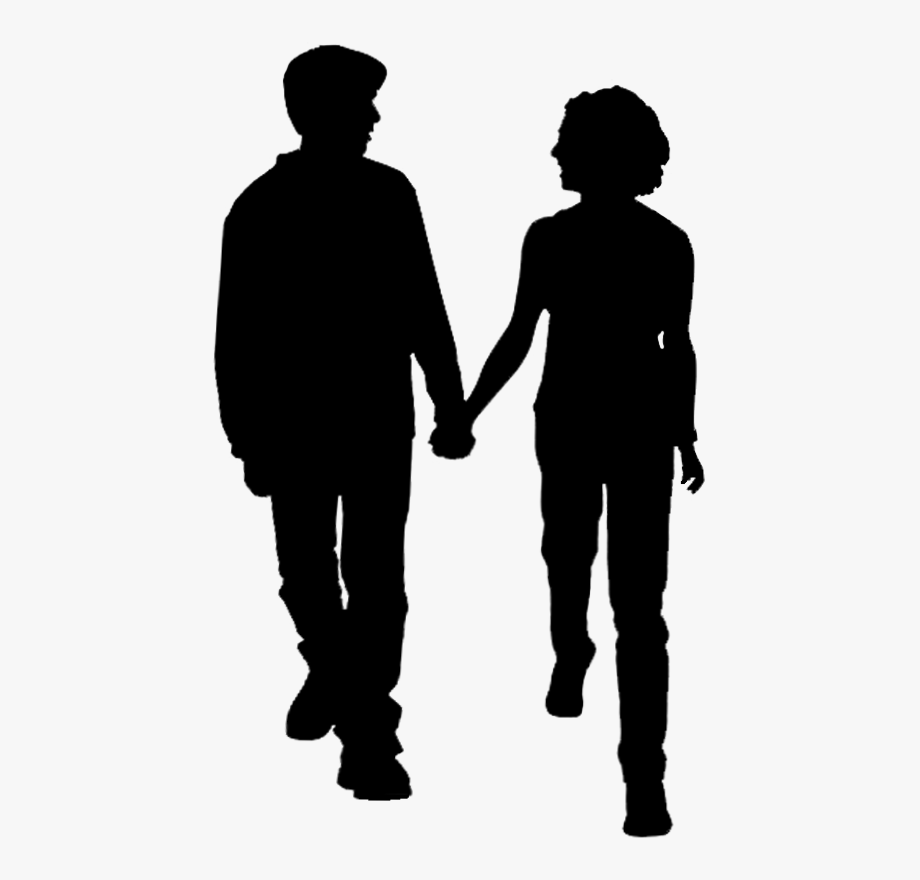 Two Men Walking Hand In Hand Png.
