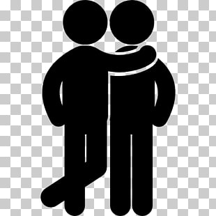 6 two people hugging PNG cliparts for free download.
