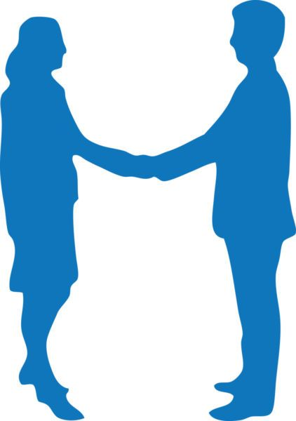 Two people shaking hands clipart » Clipart Portal.