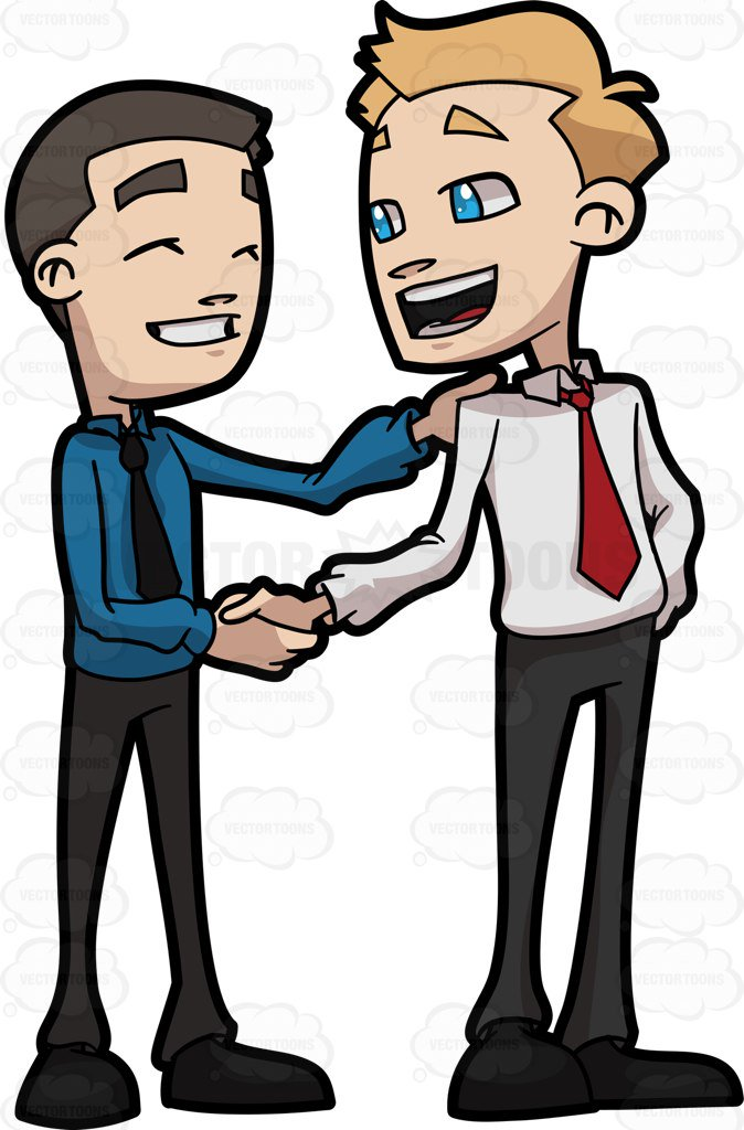 Two people shaking hands clipart 6 » Clipart Station.