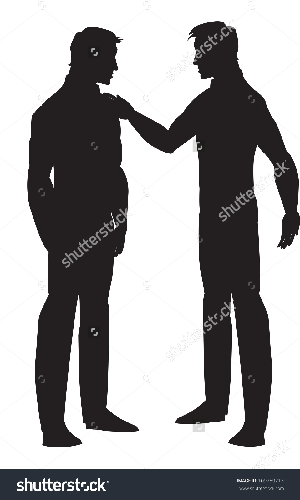 Picture Of Two Friends Talking Stock Photos, Images, & Pictures.