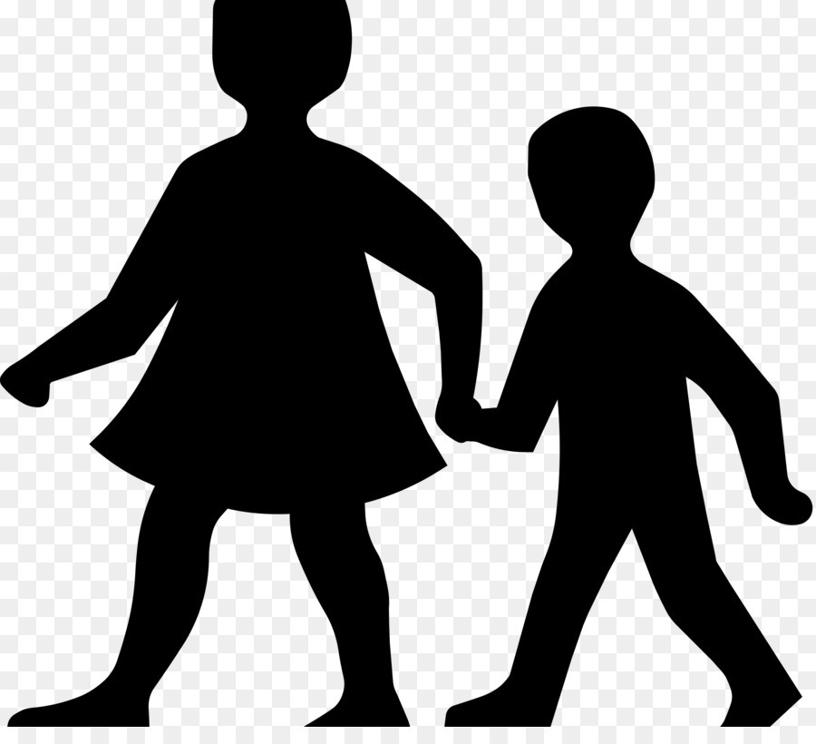 Free Two People Holding Hands Silhouette, Download Free Clip.