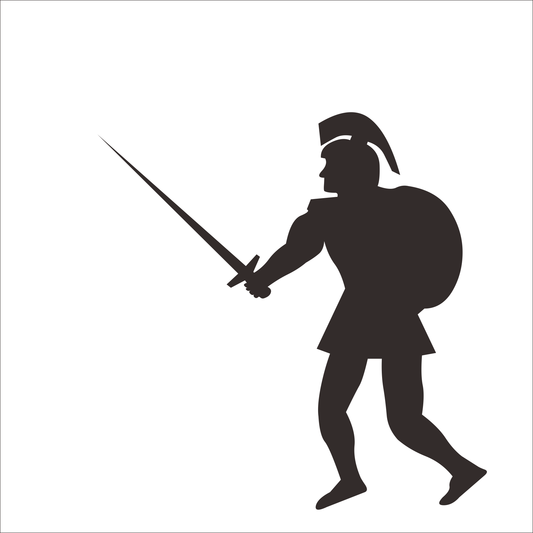 1300 Soldiers free clipart.
