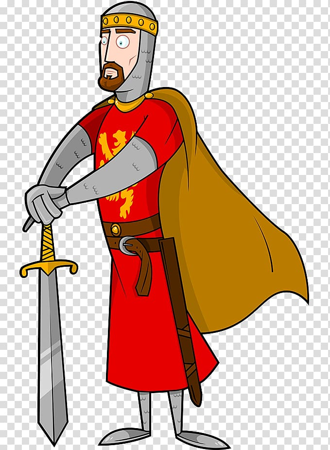 King Arthur Excalibur , Roman soldiers transparent.