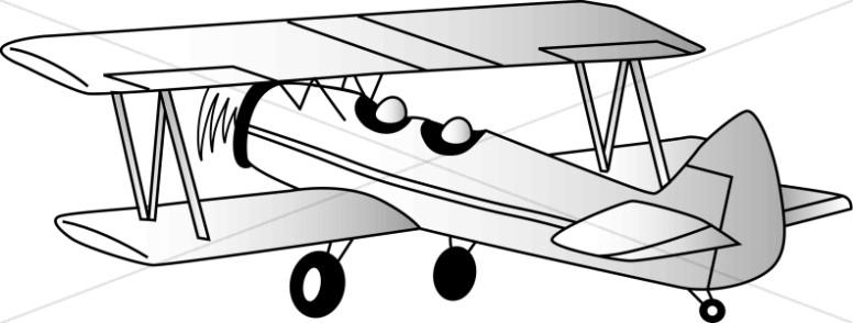 Two Seater Biplane.