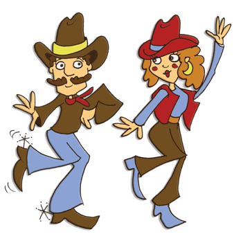 A Country Line Dance.