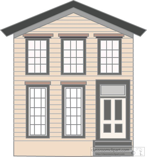 Clipart two house.