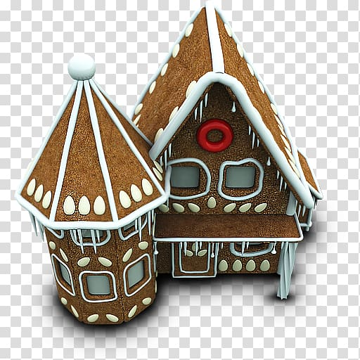Christmas ornament food gingerbread house christmas.