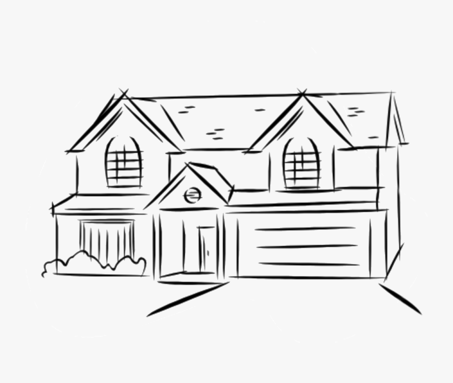 House Clipart 2 Story.