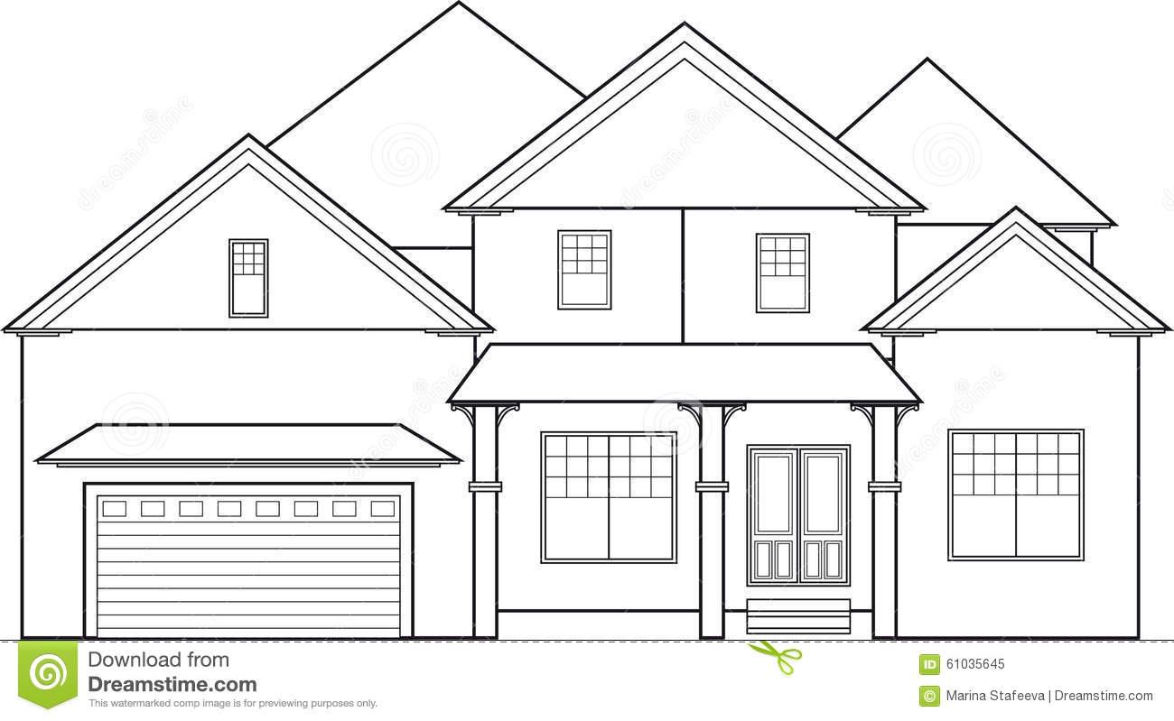 Dibujos de casas modernas para colorear dibujos para for Fachadas de casas modernas para colorear