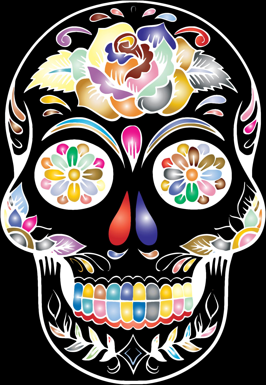 Calavera Skull Day of the Dead Clip art.