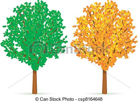Vector of Two trees..