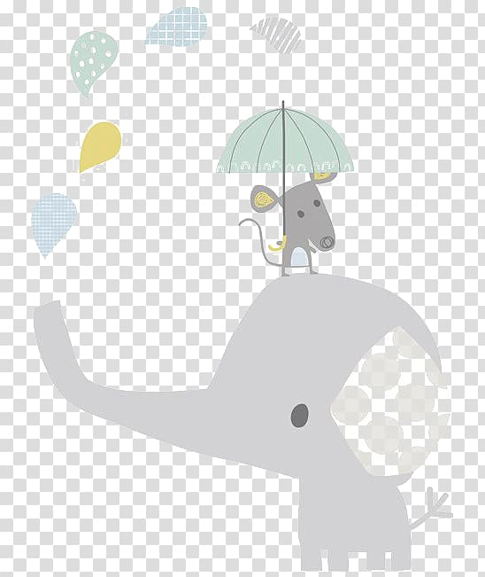 Elephant Infant Child Hathi Jr. Illustration, Cartoon baby.