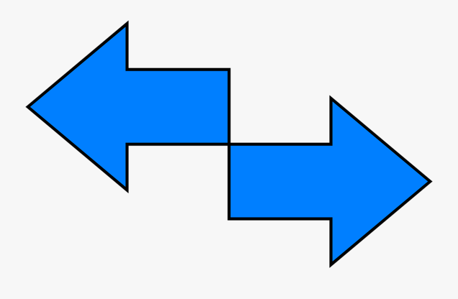 Transparent Two Way Arrow Png.