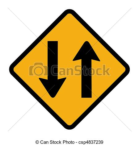 Two way traffic sign Illustrations and Clipart. 583 Two way.