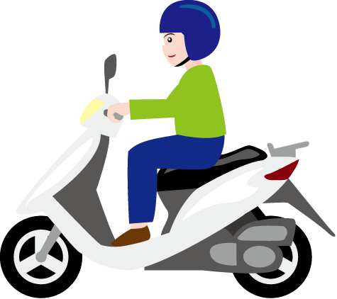 Two wheeler clipart » Clipart Station.