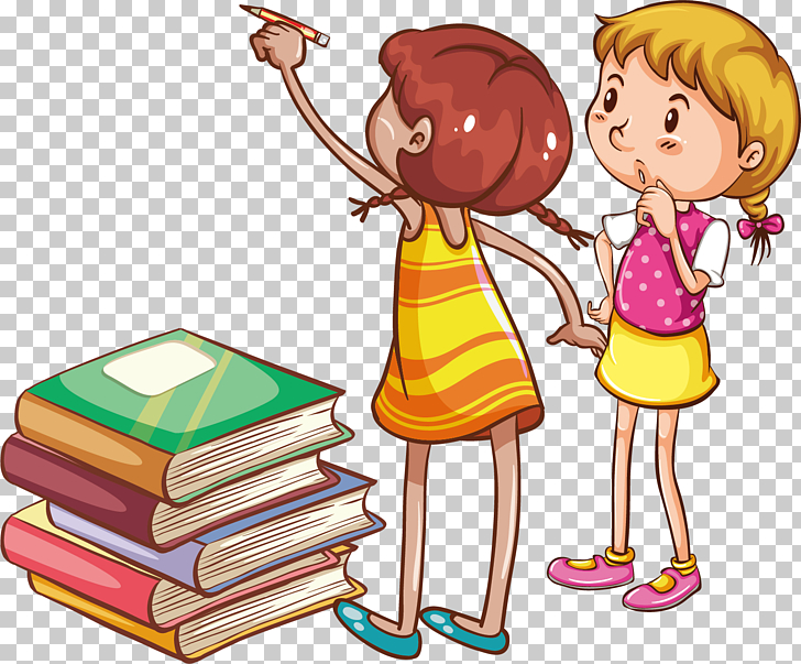 Reading Child Book , Books for children to learn creative.