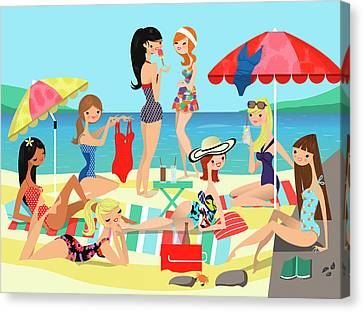 Bathing Beauties Canvas Prints (Page #16 of 26).