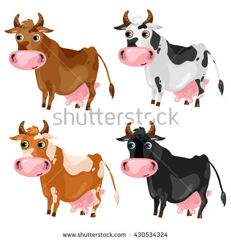 Brown Cow Stock Images, Royalty.