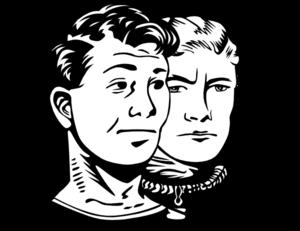 Two Men Clip Art at Clker.com.
