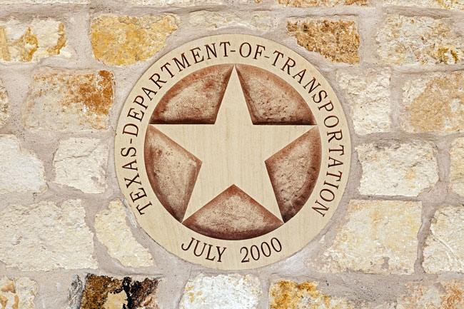 TxDOT awards design.