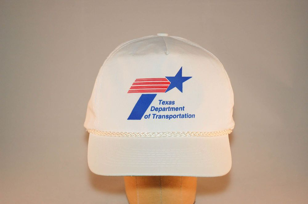 Vintage Texas Department of Transportation Hat.