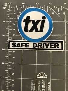 Details about Vintage TXI Safe Driver Logo Patch DriveCam Safety Ready.