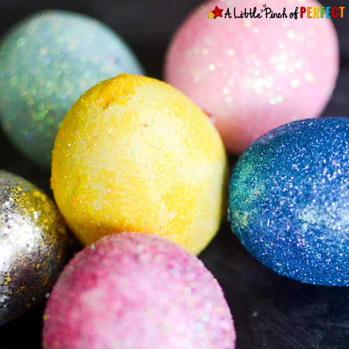 Tie Dye Easter Eggs: Easy Egg Decorating for Kids.