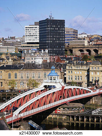 Picture of Downtown Newcastle Upon Tyne in England x21430007.