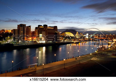Stock Photo of England, Newcastle.