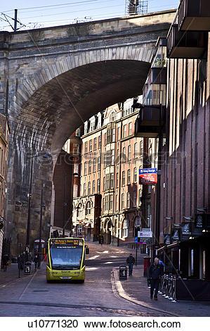 Stock Photography of England, Tyne and Wear, Newcastle upon Tyne.