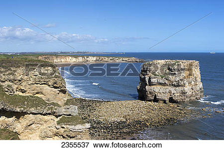 Picture of Marsden Bay; South Shields, Tyne And Wear, England.