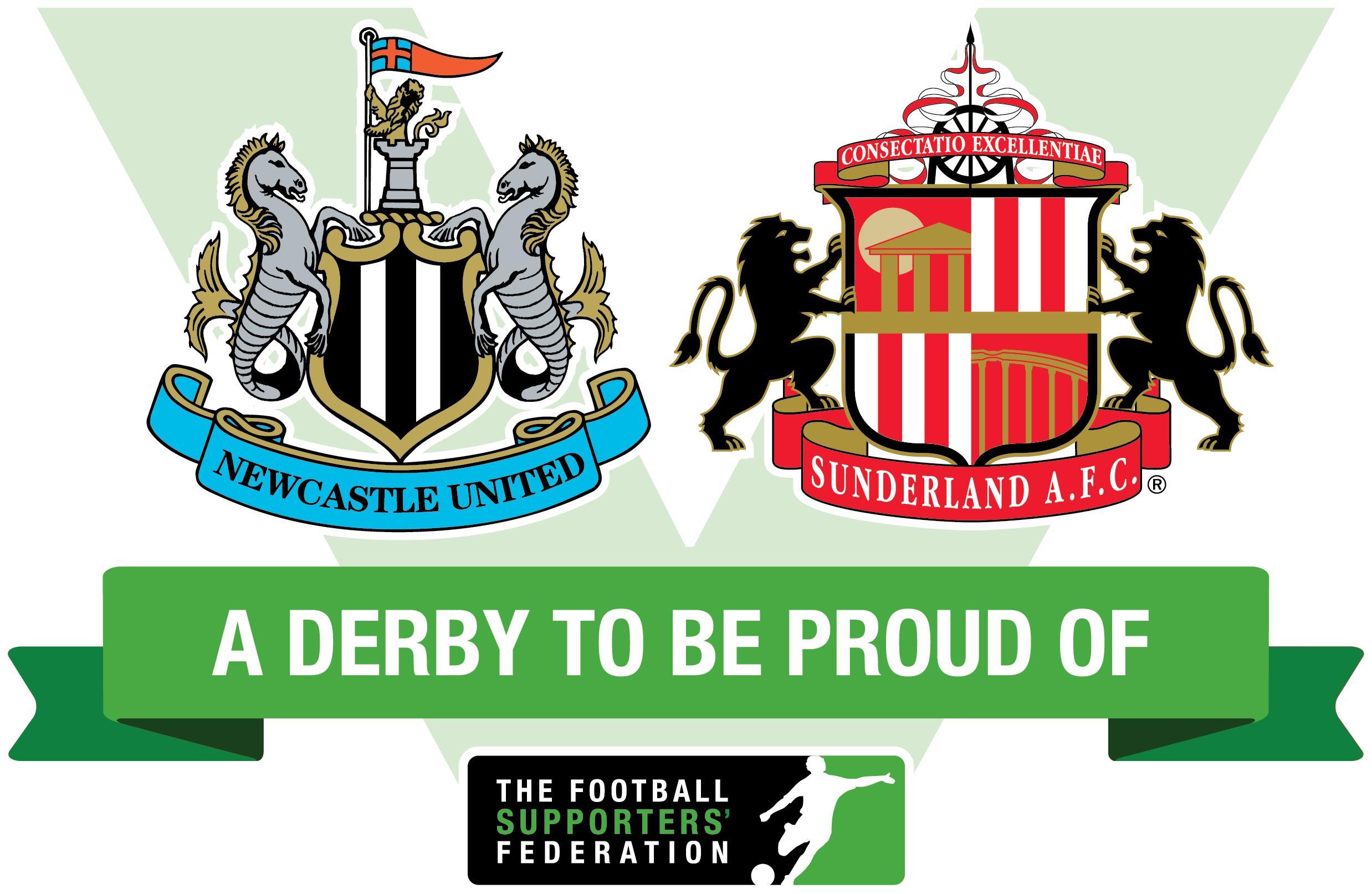 Tyne Wear derby.
