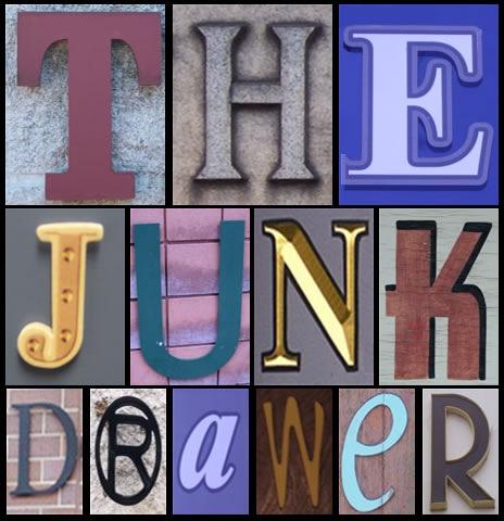 Junk Drawer Clipart.