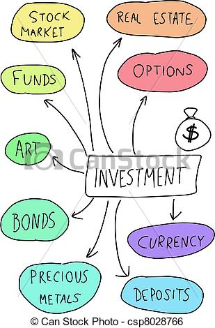 Clip Art Vector of Investment.