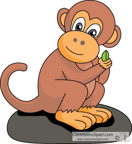 Clip Art Monkey & Clip Art Monkey Clip Art Images.